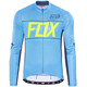Fox Ascent LS Jersey Men cyan